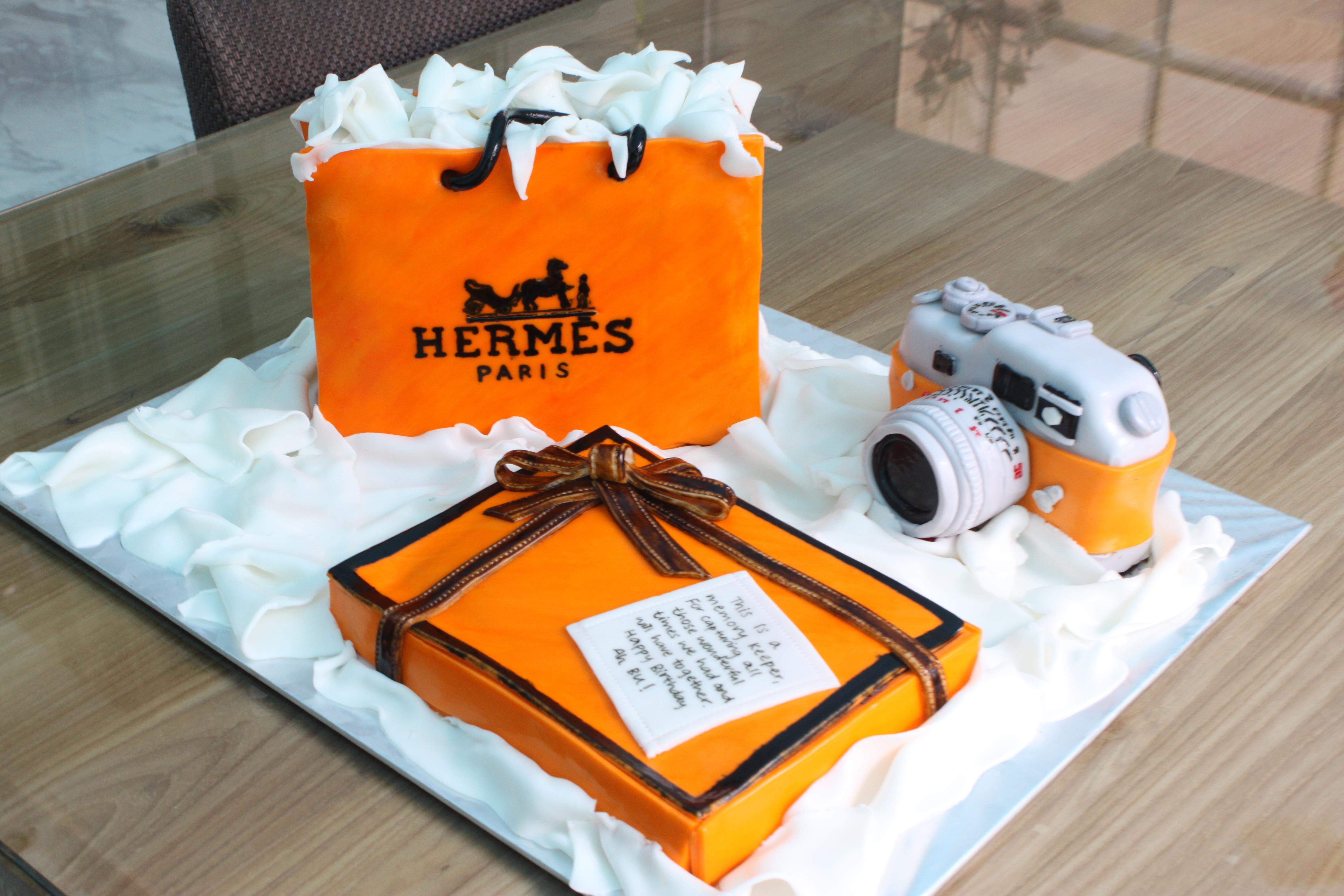 Hermes Themed Cake Feat Joanne Peh David Gan