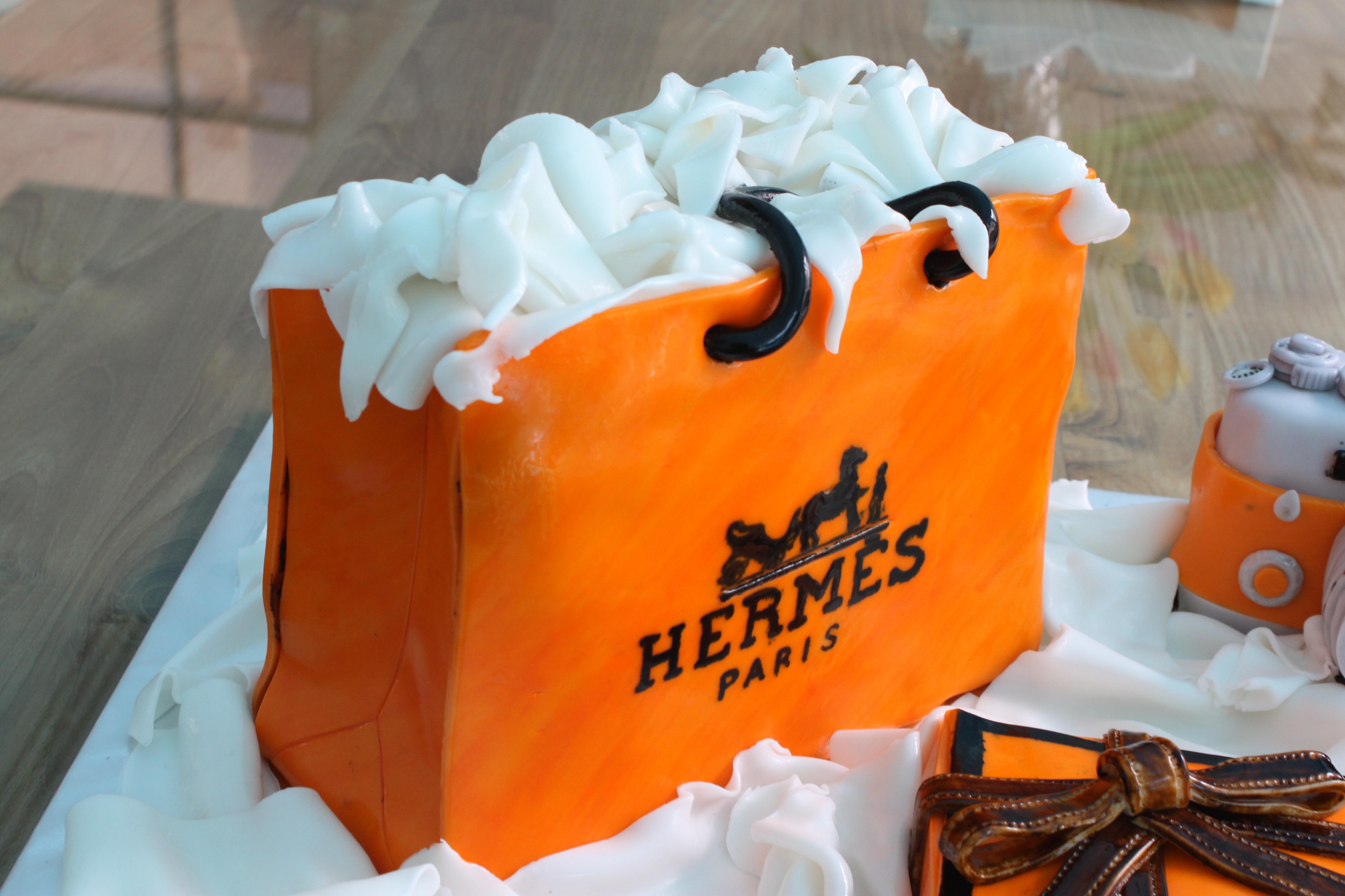 hermes bag kelly - Hermes Themed Cake �C Feat. Joanne Peh & David Gan |