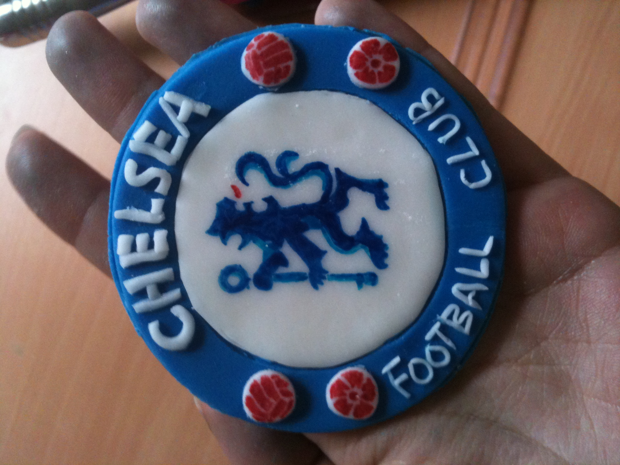 Chelsea FC Babe Cake