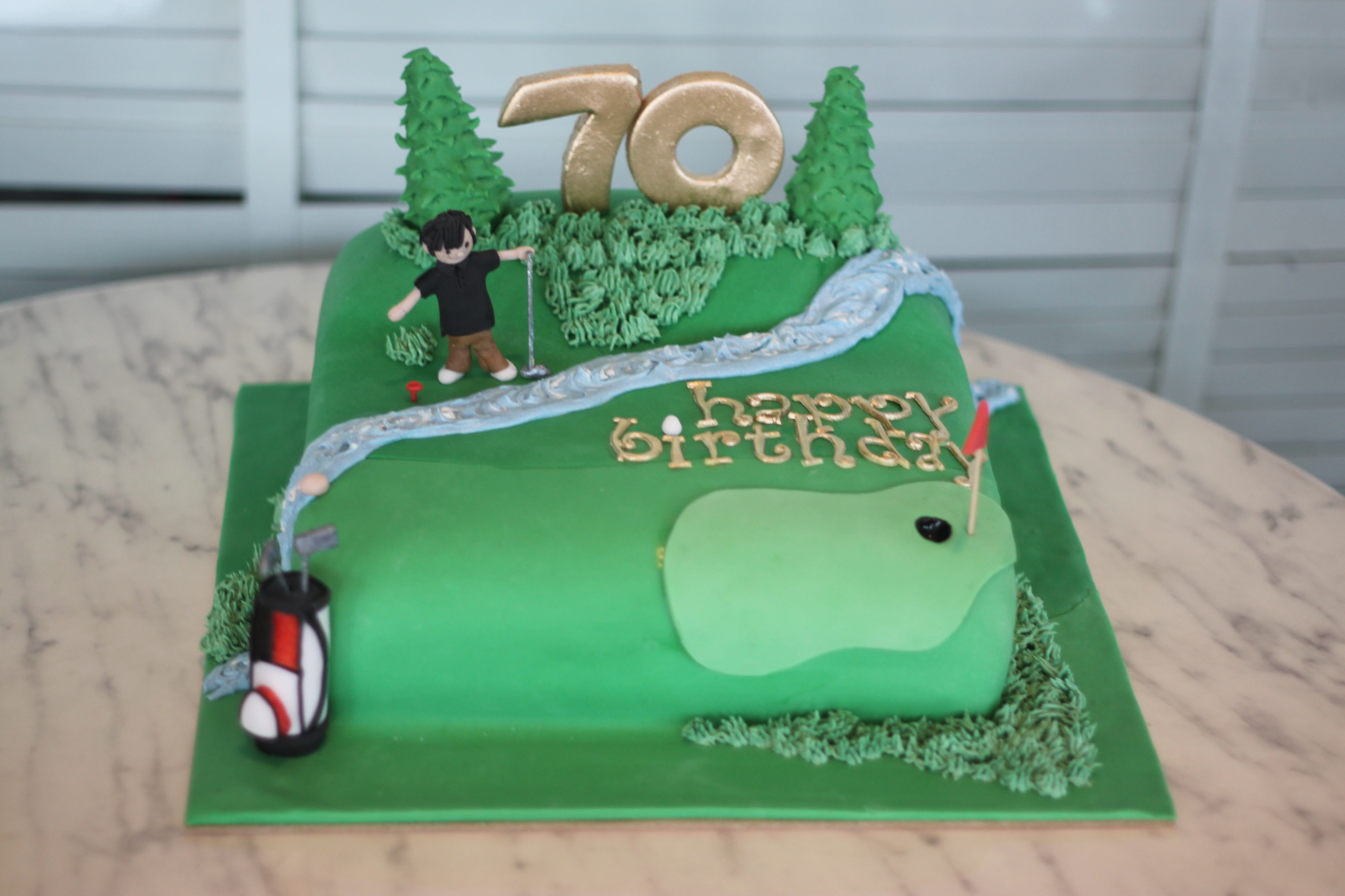 70Th Birthday Cakes for Men http://muffinsareuglycupcakes.wordpress.com/2011/01/04/hello-2011-hello-golf-cake/