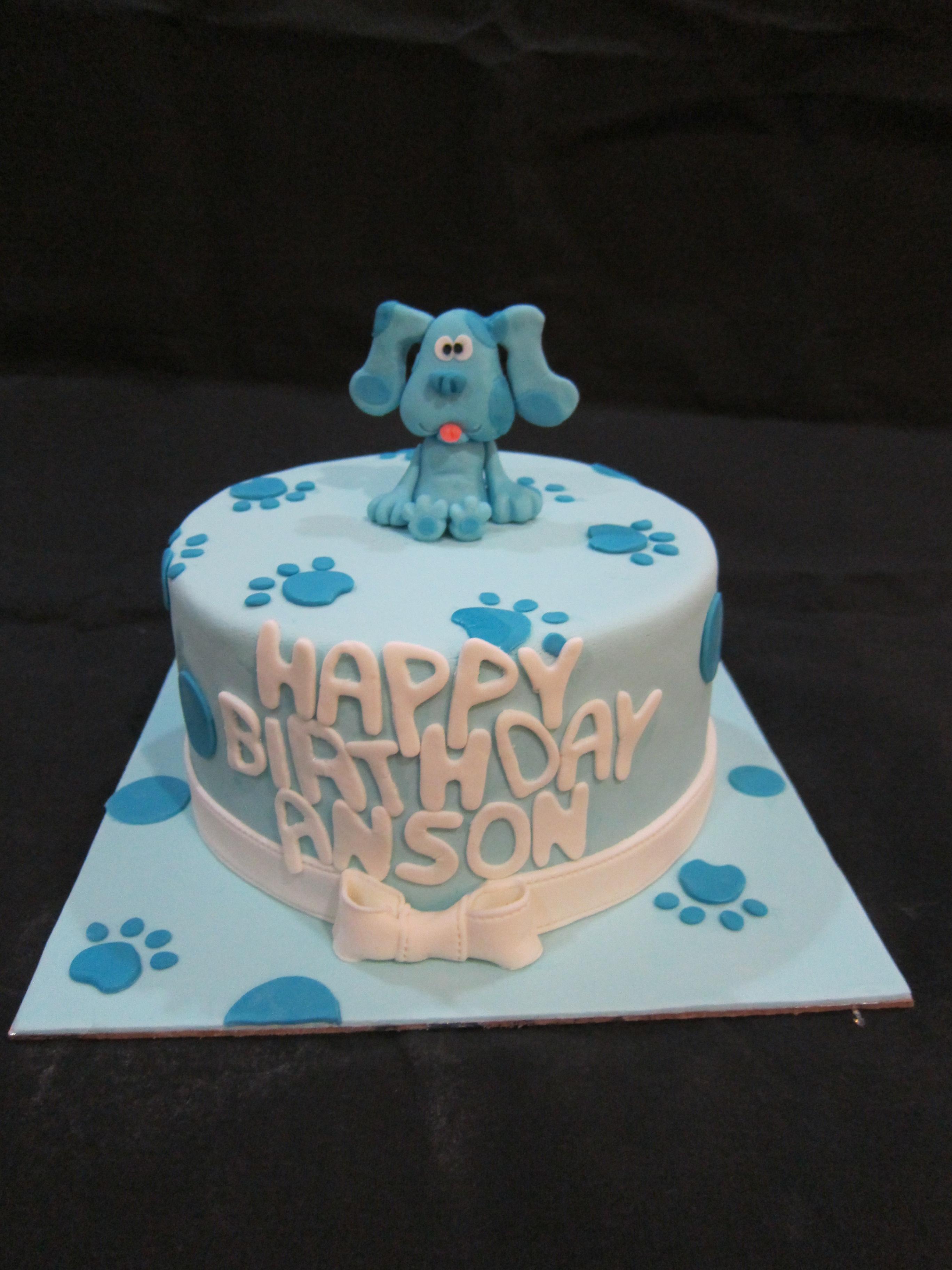 blue u0027s clues cake
